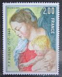 Poštovní známka Francie 1977 Umění, Peter Paul Rubens Mi# 2052
