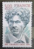 Poštovní známka Francie 1977 Charles Cros, spisovatel Mi# 2056