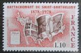 Poštovní známka Francie 1978 Mapa a vlajky Mi# 2067