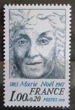 Poštovní známka Francie 1978 Marie Noel, spisovatelka Mi# 2071