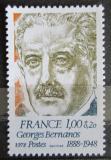 Poštovní známka Francie 1978 Georges Bernanos, spisovatel Mi# 2073
