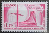 Poštovní známka Francie 1979 Památník Jany z Arku Mi# 2155
