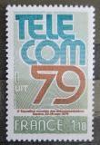 Poštovní známka Francie 1979 Výstava TELECOM Mi# 2168