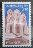 Poštovní známka Francie 1980 Katedrála Le Puy Mi# 2204