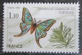 Poštovní známka Francie 1980 Graellsia isabellae Mi# 2208