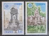 Poštovní známky Francie 1978 Evropa CEPT, architektura Mi# 2098-99