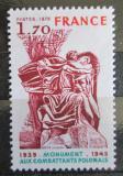 Poštovní známka Francie 1978 Památník polským vojákům ve válce Mi# 2126
