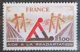 Poštovní známka Francie 1978 Pomoc postiženým Mi# 2128