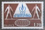 Poštovní známka Francie 1978 Deklarace lidských práv, 30. výročí Mi# 2132