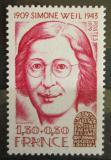 Poštovní známka Francie 1979 Simone Weil, filozofka Mi# 2177