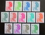 Poštovní známky Francie 1982 Svoboda, Eugene Delacroix Mi# 2299-2311