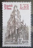 Poštovní známka Francie 1981 Katedrála v Lyonu Mi# 2266