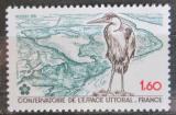 Poštovní známka Francie 1981 Volavka popelavá Mi# 2272