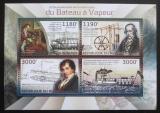 Poštovní známky Burundi 2012 Staré parníky Mi# 2868-71 Kat 10€
