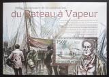 Poštovní známka Burundi 2012 Staré parníky Mi# Block 298 Kat 9€
