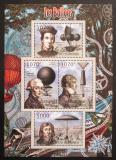 Poštovní známky Burundi 2012 Létající balóny Mi# 2406-09 Kat 10€
