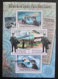 Poštovní známky Burundi 2012 První let z Paříže do Londýna Mi# 2416-19 Kat 10€