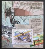 Poštovní známka Burundi 2012 První let z Paříže do Londýna Mi# Block 216 Kat 9€