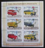 Poštovní známky Komory 2008 Poštovní vozidla Mi# 1813-18 Kat 11€