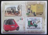 Poštovní známka Komory 2008 Poštovní vozidla Mi# Block 431 Kat 15€