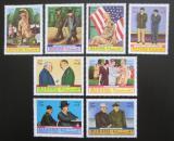 Poštovní známky Manáma 1970 Prezident Dwight D. Eisenhower Mi# 403-10
