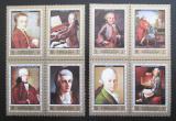 Poštovní známky Adžmán 1972 Wolfgang Amadeus Mozart Mi# 1328-35