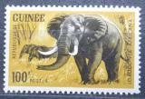 Poštovní známka Guinea 1964 Slon africký Mi# 251