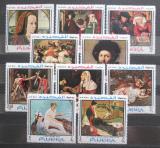 Poštovní známky Fudžajra 1968 Umění Mi# 224-33 Kat 17€