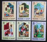 Poštovní známky Fudžajra 1967 Pohádky z Tisíce a jedné noci Mi# 186-91
