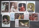 Poštovní známky Rás al-Chajma 1968 Umění, Den matek Mi# 218-25