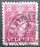 Poštovní známka Svatá Lucie 1949 Král Jiří VI. Mi# 121 A
