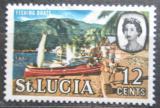 Poštovní známka Svatá Lucie 1964 Rybářská lod Mi# 178