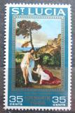Poštovní známka Svatá Lucie 1968 Umění, velikonoce Mi# 226