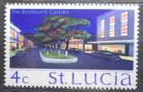 Poštovní známka Svatá Lucie 1970 Ulice v Castries Mi# 255 X