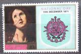 Poštovní známka Svatá Lucie 1971 Umění, Národní den Mi# 301