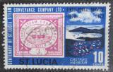 Poštovní známka Svatá Lucie 1972 Poštovní služby Mi# 313
