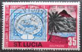 Poštovní známka Svatá Lucie 1972 Poštovní služby Mi# 314