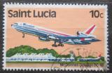Poštovní známka Svatá Lucie 1980 Letadlo Mi# 503