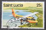 Poštovní známka Svatá Lucie 1980 Letadlo Mi# 506