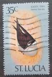 Poštovní známka Svatá Lucie 1976 Sterna fuscuta Mi# 390