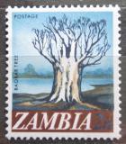 Poštovní známka Zambie 1968 Baobab prstnatý Mi# 40