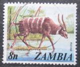 Poštovní známka Zambie 1975 Sitatunga Mi# 146