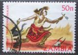 Poštovní známka Zambie 1981 Šaman Mi# 260