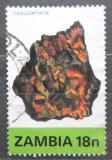 Poštovní známka Zambie 1982 Chalkopyrit Mi# 278