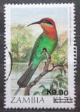 Poštovní známka Zambie 1989 Vlha Böhmova přetisk Mi# 485