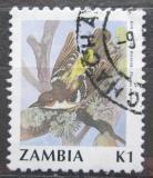 Poštovní známka Zambie 1991 Snovač angolský Mi# 545