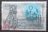 Poštovní známka Zambie 1985 Hornictví Mi# 335