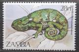 Poštovní známka Zambie 1984 Chameleon Mi# 319