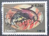 Poštovní známka Zambie 2007 Ptáci přetisk Mi# 1596 Kat 4€