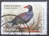 Poštovní známka Zambie 2001 Slípka modrá Mi# 1259